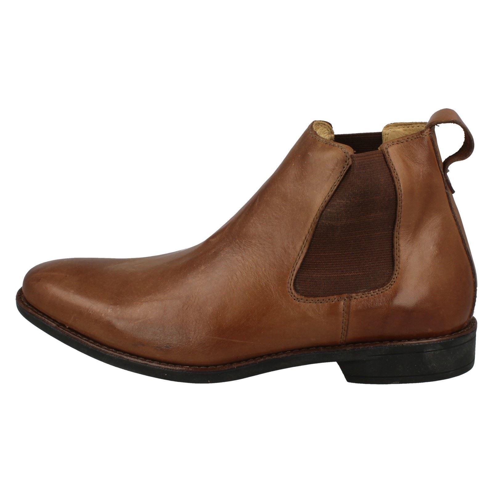 Mens-Anatomic-Chelsea-Boots-039-929211LB-039 thumbnail 19