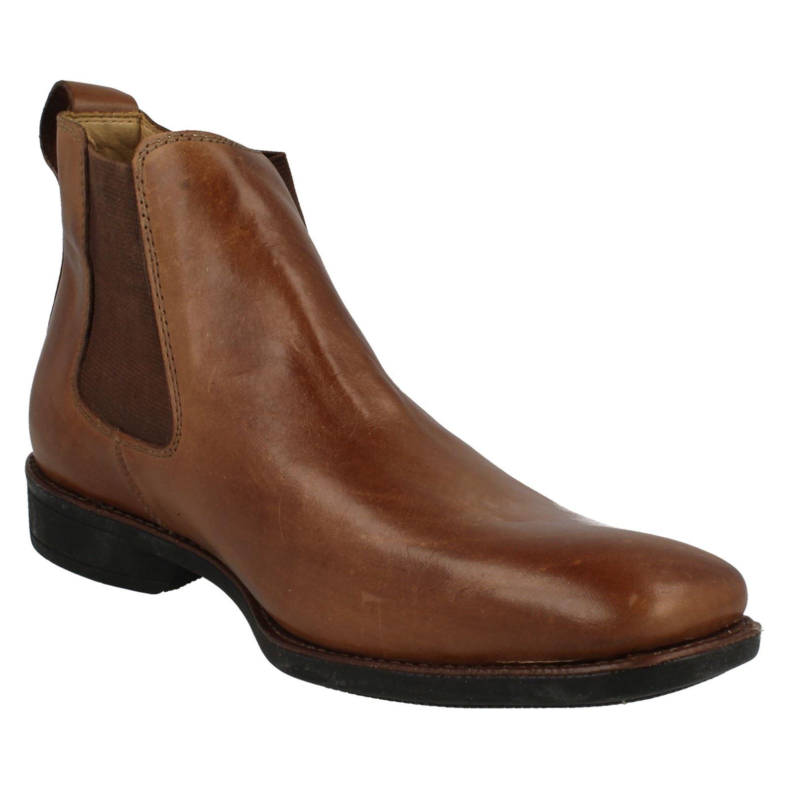 Mens-Anatomic-Chelsea-Boots-039-929211LB-039 thumbnail 16