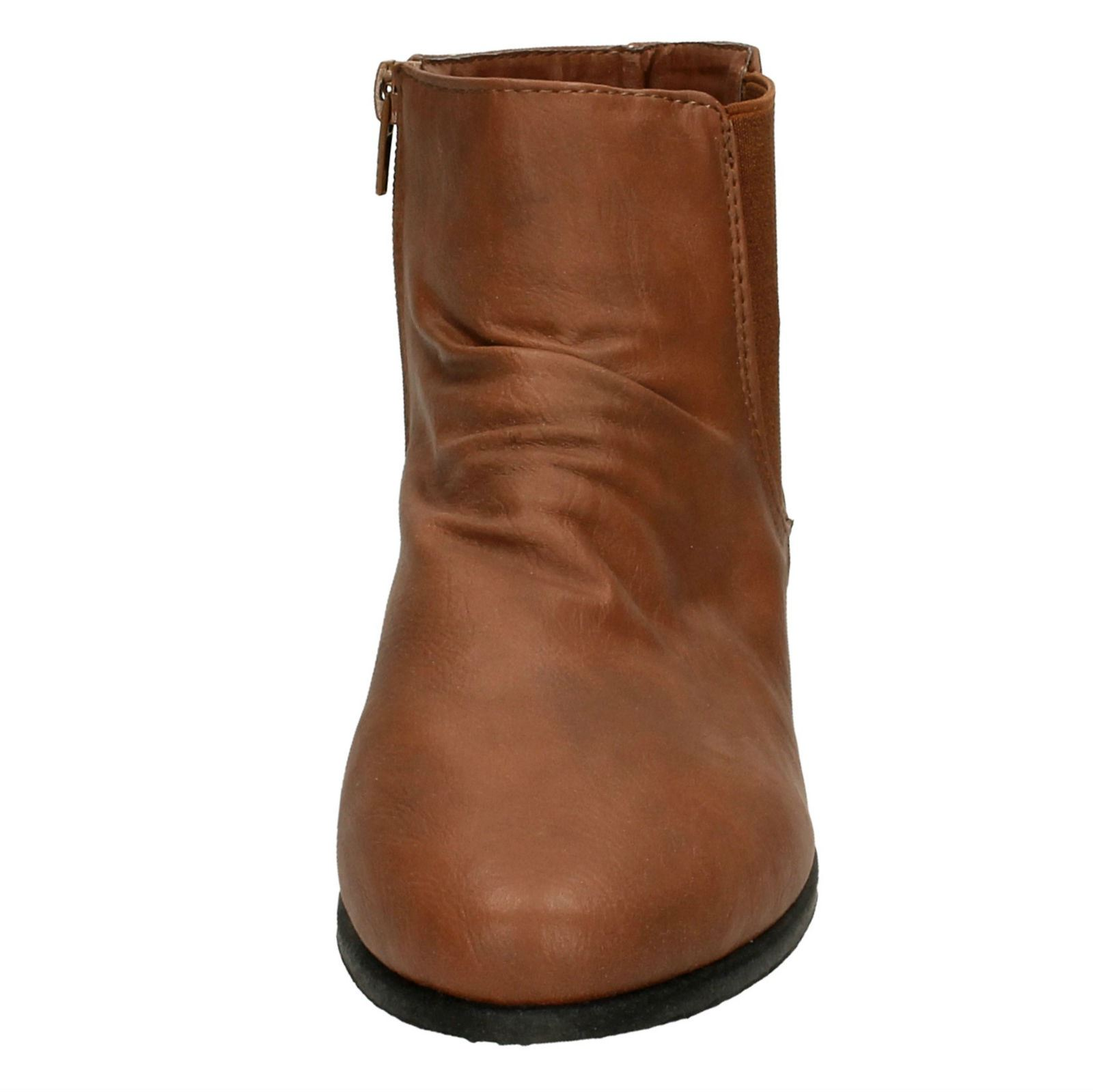 Ladies-Spot-On-Side-Gusset-039-Ankle-Boots-039