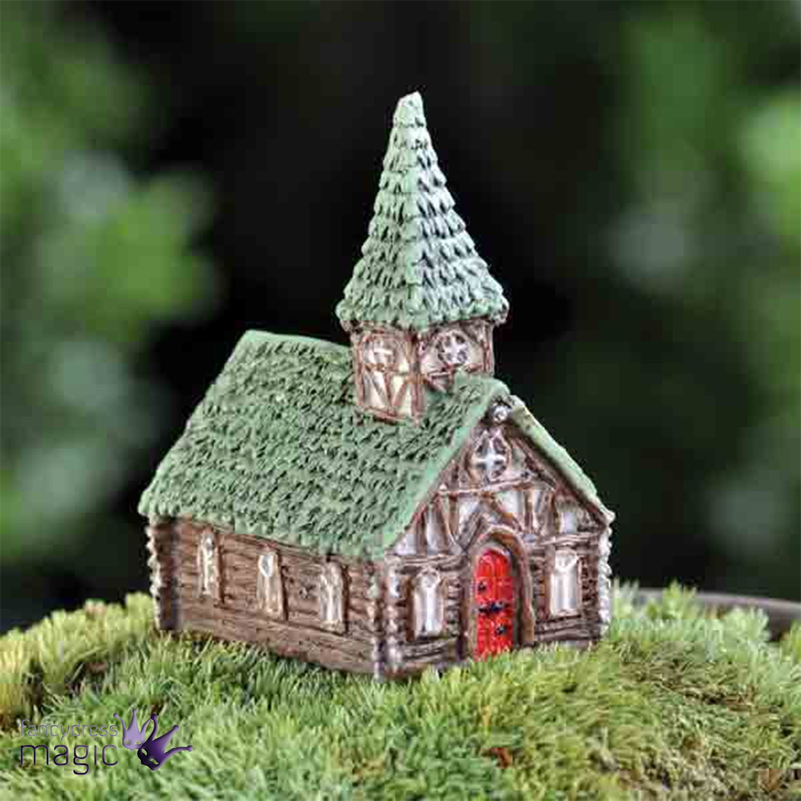 fiddlehead enchanted haus micro mini miniatur h tte nach feenhaft elf garten ebay. Black Bedroom Furniture Sets. Home Design Ideas