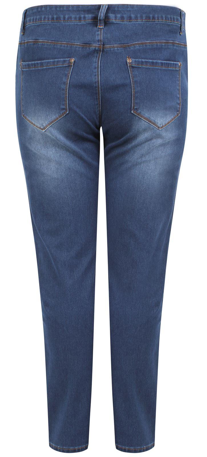 damen bergr e doppelten naht enganliegend denim jeans. Black Bedroom Furniture Sets. Home Design Ideas