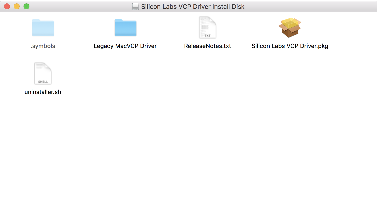 How to install USB to UART Bridge VCP drivers on Mac OS X - Wia