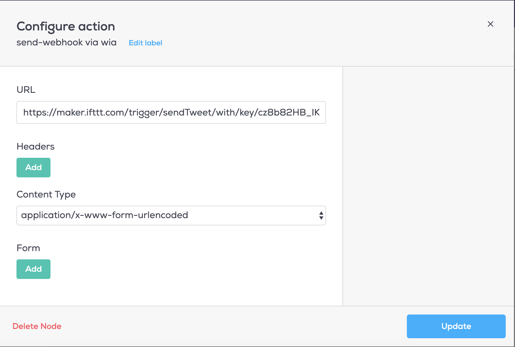 Twitter Button using Wia Dot One and Button Module - Wia Community