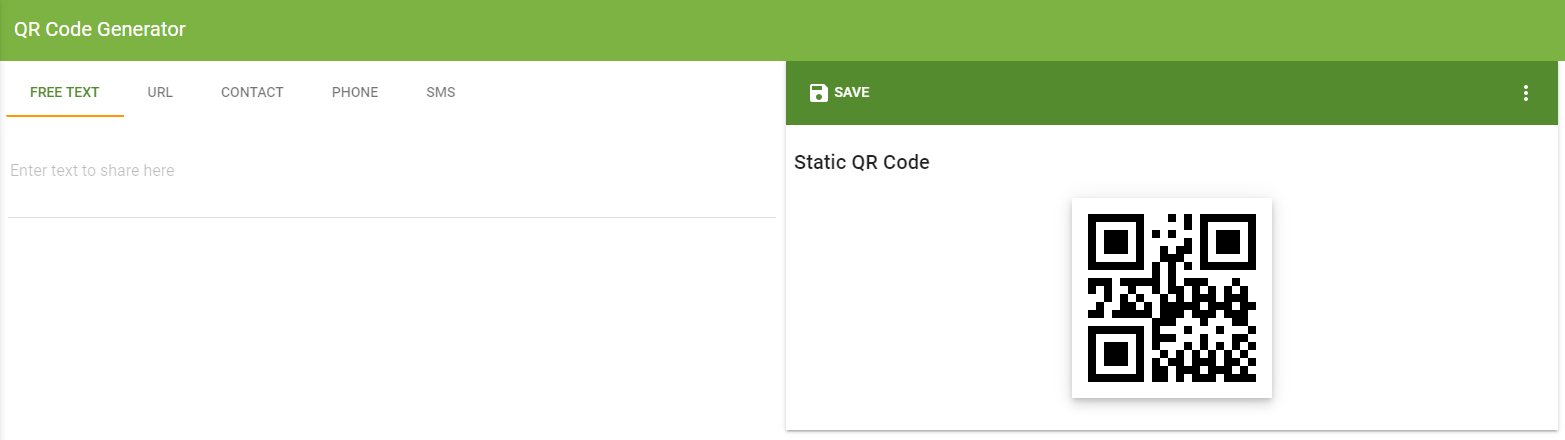 Display QR Codes on your Dot One  - Wia Community