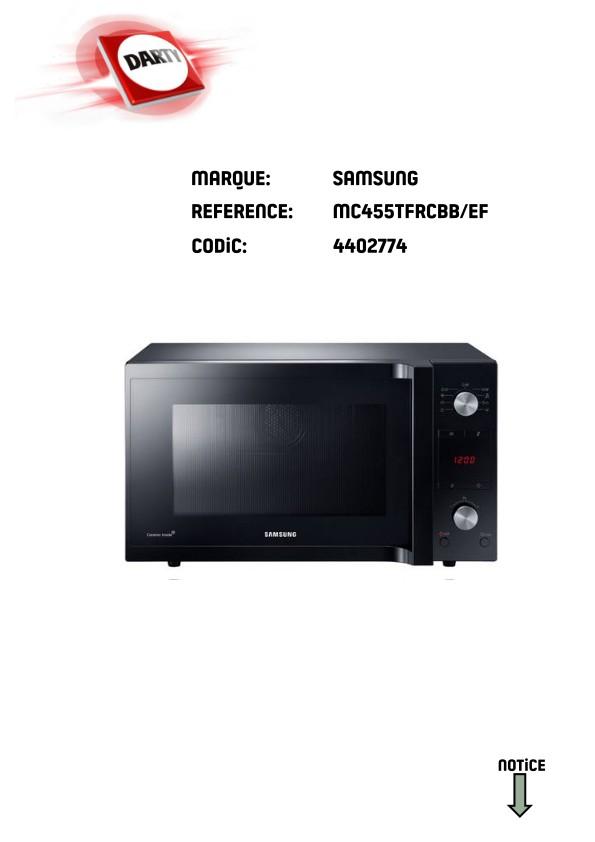 Micro-ondes combiné MC455TFRCBB