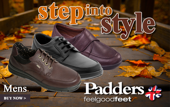Step into Style with Padders for Men