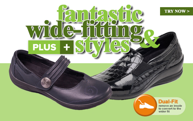 Fantastic Wide Fitting Styles