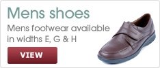 Mens Shoes at Wide Shoes 4 U