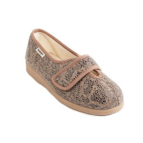 Ladies Extra Wide Fitting Canvas Shoe