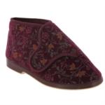 GBS BELLA - Ladies Wide Bootee Slipper - Fitting EE