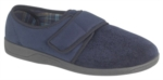 Sleepers Tom - Mens Extra Wide Velcro Slipper