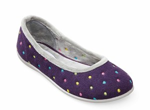 Padders BALLERINA - Ladies Wide Fitting Slipper