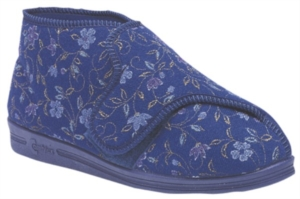 Comfylux BETTY - Ladies Wide Fitting Bootie Slipper