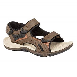 PDQ DAVID - Mens Wide Fitting Sandal