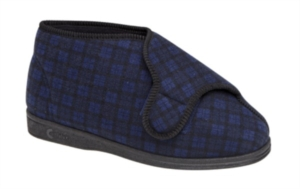 Comfylux Gerry - Mens Extra Wide Fitting Bootie Slipper