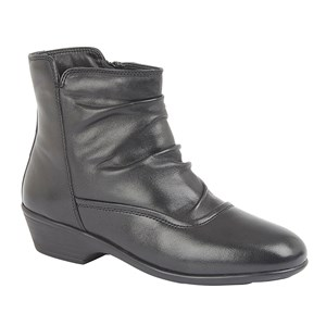 Mod Comfys LARA -  Ladies Wide Fitting Ankle Boot