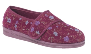 Comfylux SALLY - Ladies Extra Wide Fitting Slipper