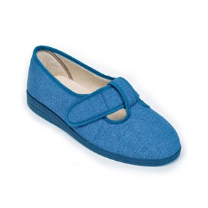 Sandpiper TRACY - Ladies Extra Wide Fitting Canvas Shoe