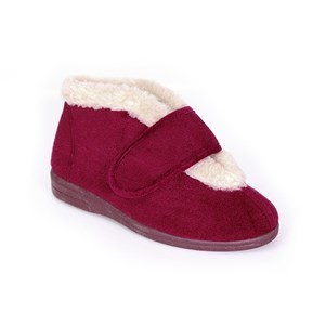Sandpiper VAL - Ladies Extra Wide Fitting Bootee Slipper