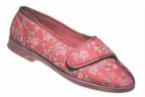 GBS WILMA - Ladies Wide Fitting Slipper