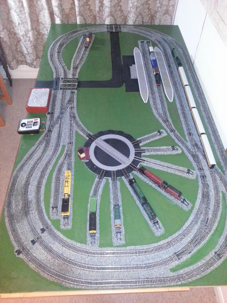 Large Hornby Oo Dcc Train Layout Bembridge Expired