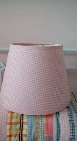 Laura ashley pink gingham light shade in newport expired wightbay aloadofball Images