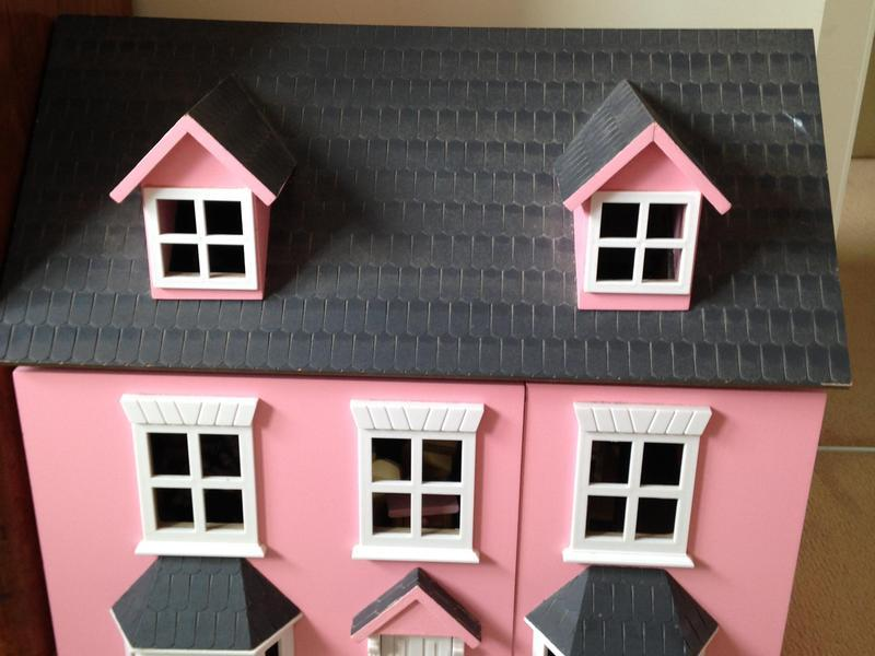 Gorgeous Large Wooden Dolls House With Figures And Furniture..   Newport    Expired | Wightbay