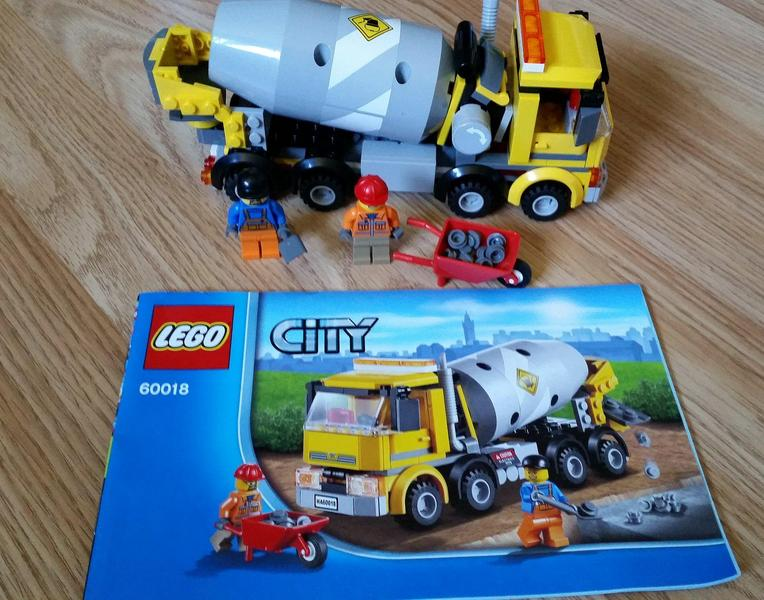 Lego City 60018 Cement Truck Sandown Expired Wightbay