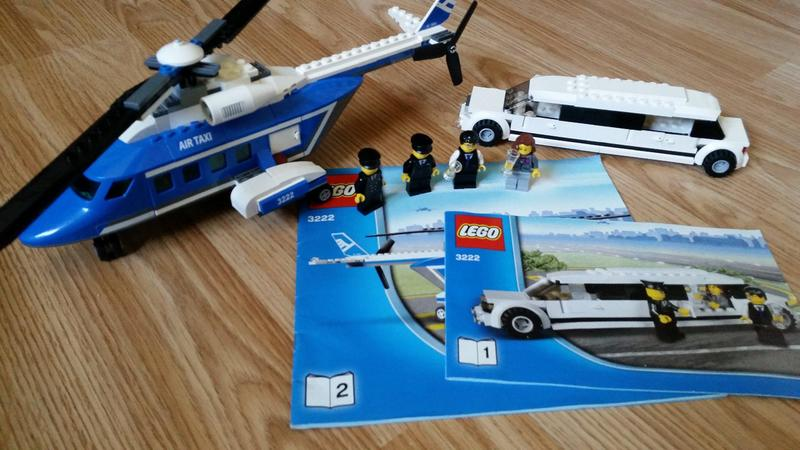 Lego City 3222 Helicopter And Limousine Sandown Expired Wightbay