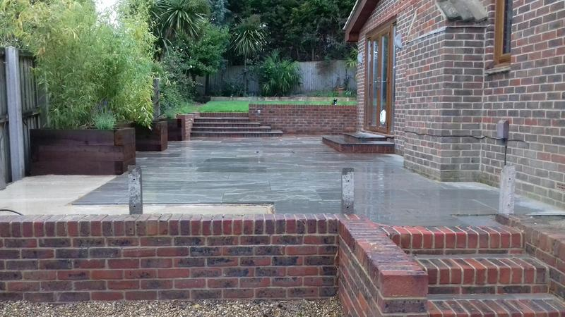 Perfect Patios With Ambient Landscaping In Sandown