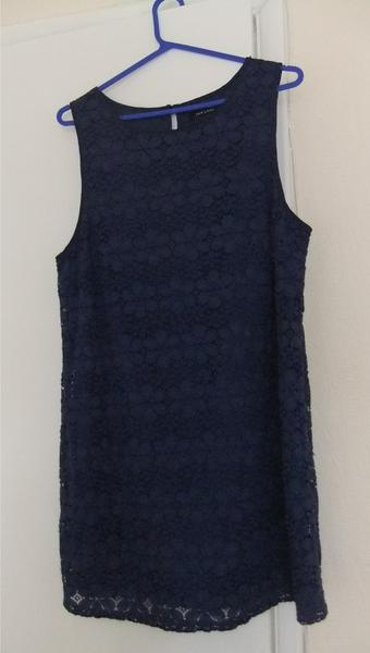 Navy Lace Summer Dress Size 18 Ventnor Expired Wightbay
