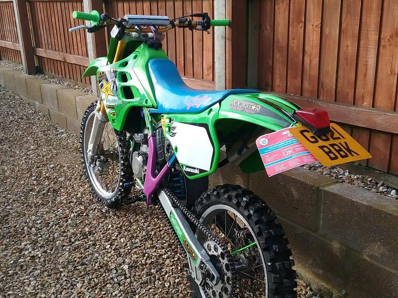 Kawasaki kx 125 road legal in Shanklin - Expired | Wightbay
