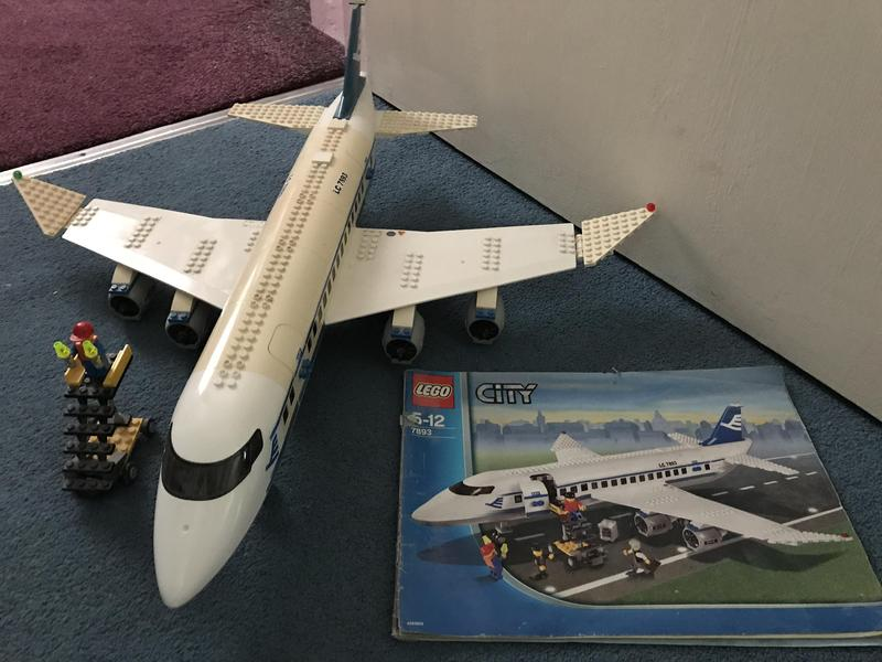 Lego City Passenger Plane 7893 Newport Isle Of Wight Sold Wightbay