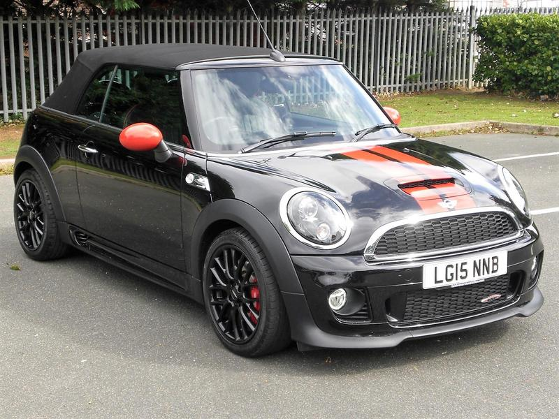 2015 mini john cooper works 1 6 211bhp convertible only 5 800 miles in newport isle of wight. Black Bedroom Furniture Sets. Home Design Ideas