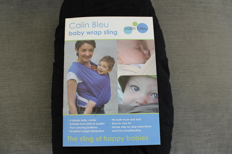 Calin Bleu Baby Sling Cowes Sold Wightbay