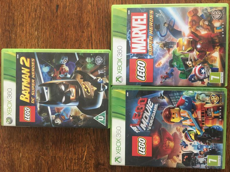 Lego Batman 2 DC Super Heroes, The Lego Movie Videogame and Lego ...