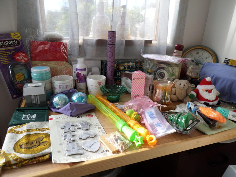 Tombola prizes for sale