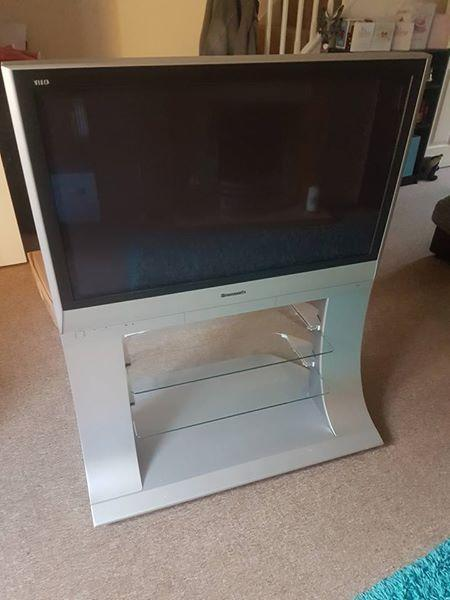 Panasonic 37 Plasma Tv And Pedestal Stand East Cowes Sold