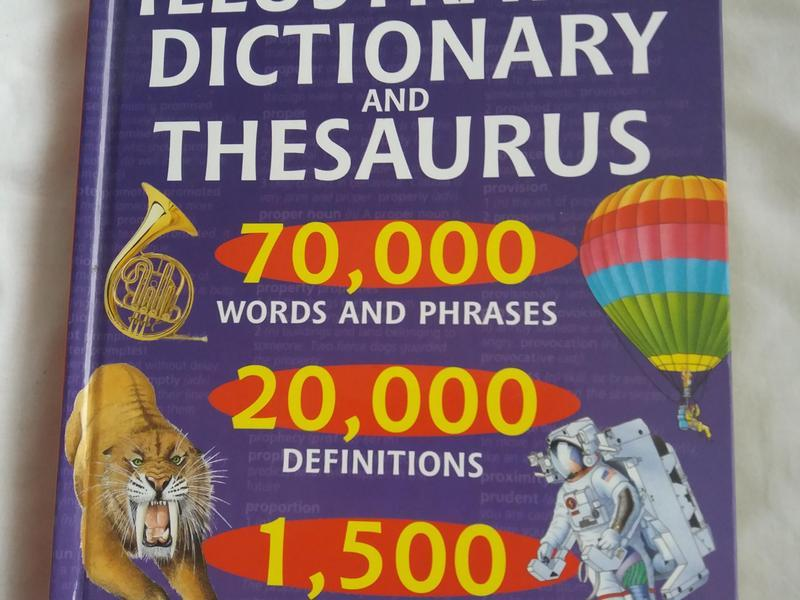 Illustrated dictionary and thesaurus - Cowes - Expired | Wightbay