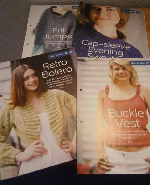 Numerous Knitting Patterns In Folder Freshwater Expired Wightbay