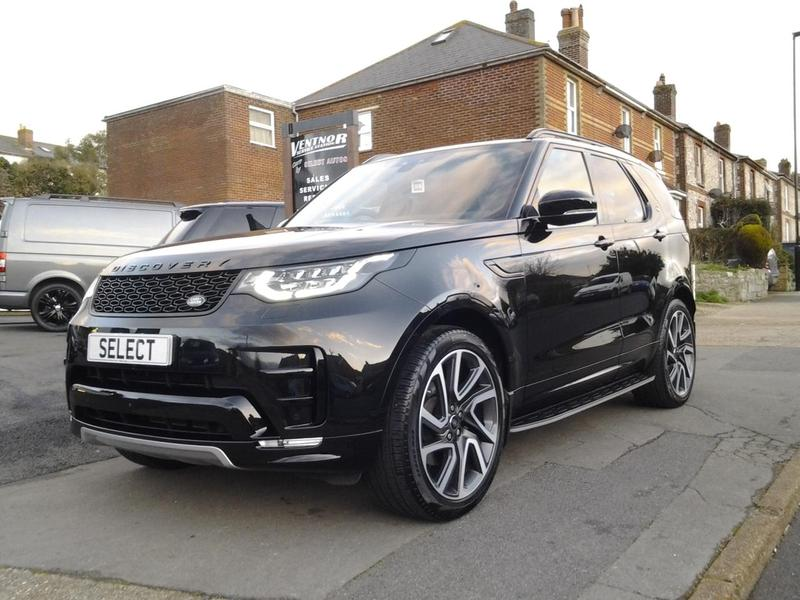 2017 land rover discovery 3 0td6 259ps 4x4 auto hse luxury in ventnor wightbay. Black Bedroom Furniture Sets. Home Design Ideas