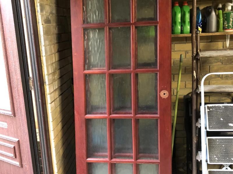 Internal Glass Panelled Doors X 4 Newport Isle Of Wight Sold
