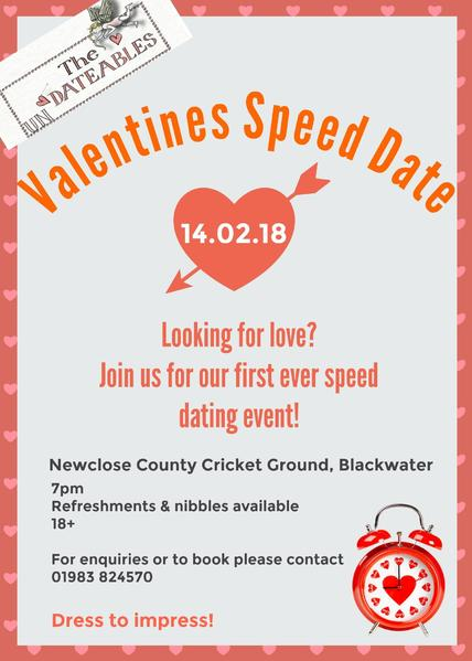 Isle of Wight speed dating