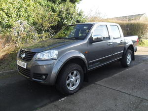 Special Edition Great Wall Steed Tracker in Ryde