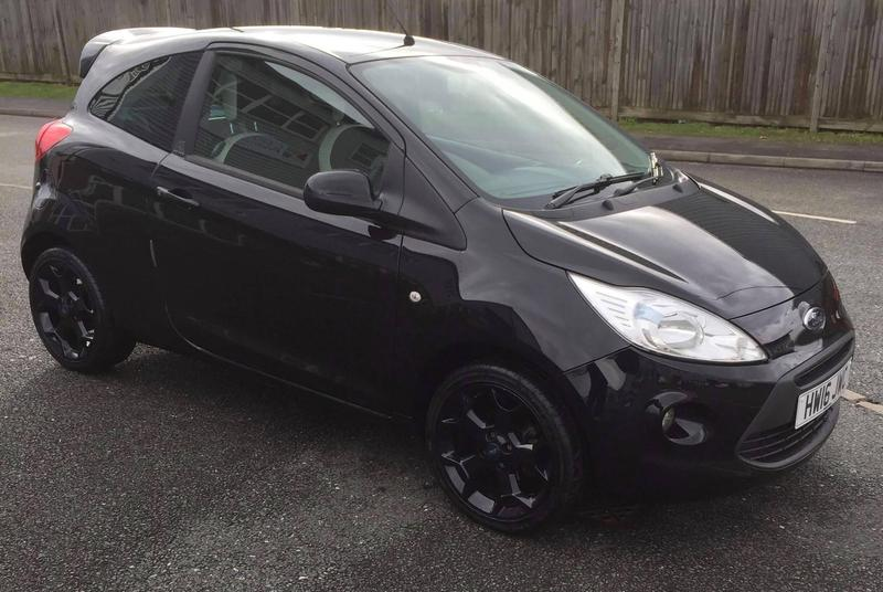 ford ka 2016 black edition genuine bargain in cowes expired wightbay. Black Bedroom Furniture Sets. Home Design Ideas