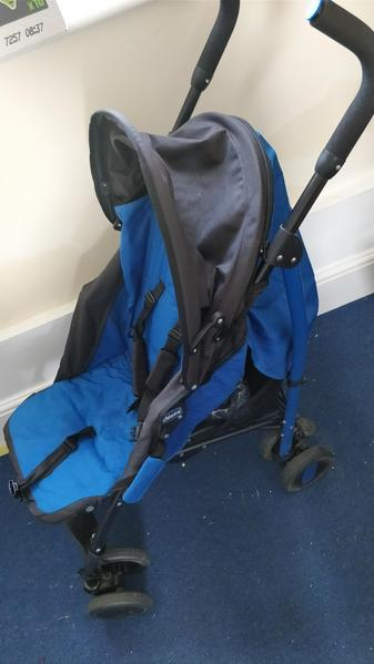85401081d541 Chicco blue stroller - Newport Isle of Wight - Sold
