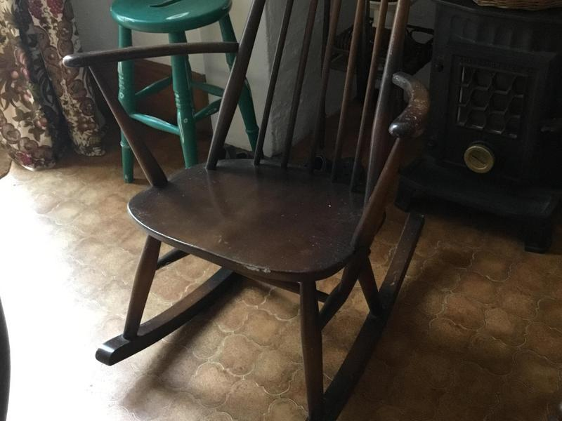 Astonishing Kids Parker Knoll Rocking Chair 1960S In Ryde Sold Machost Co Dining Chair Design Ideas Machostcouk