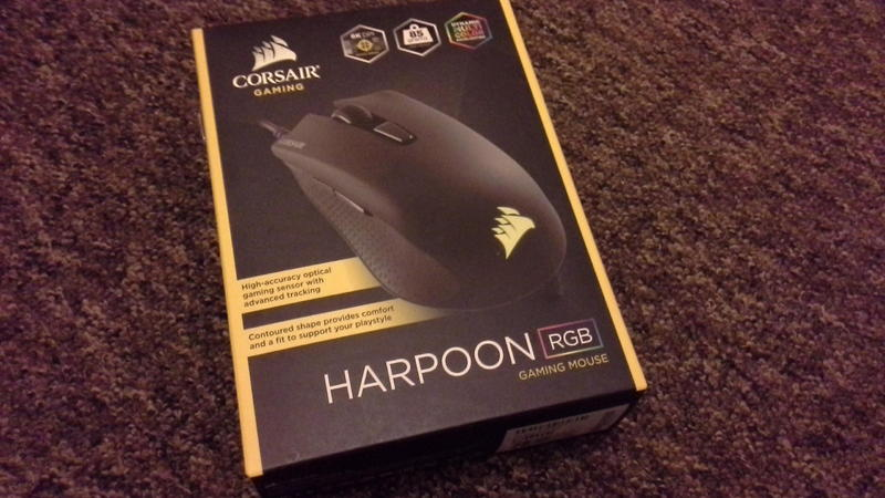 Corsair Harpoon Mouse - Ryde - Sold | Wightbay