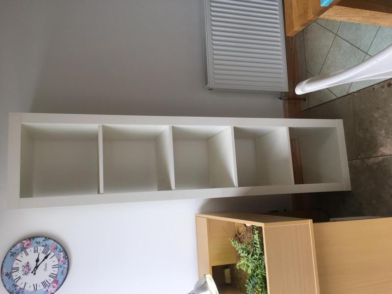 finest selection 22344 ea93a Ikea Kallax single bookcase in Ryde - Sold | Wightbay