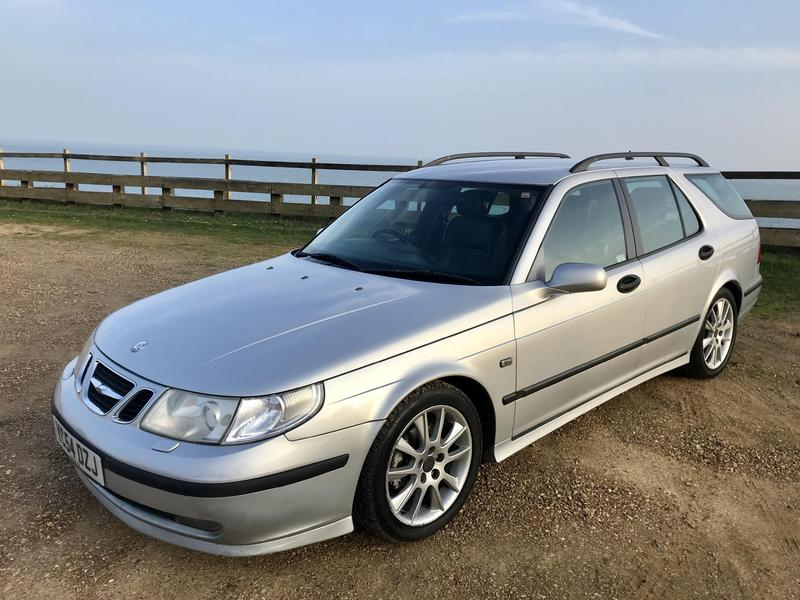 2004 saab 9 5 estate 2 2 turbo diesel vector sport auto in. Black Bedroom Furniture Sets. Home Design Ideas